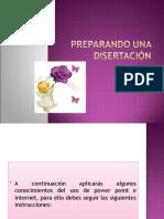 Preparando una disertación 5