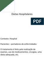 Dietas Hospitalares - apresentacao