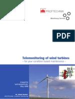 Telemonitoring of Wind Turbines[1]
