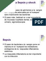 Bacteriemia Sepsis y shock séptico
