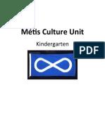 Kindergarten-Métis Culture Unit