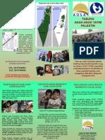 Brochure Anak Yatim Palestin