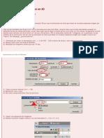 Macromedia Flash (ActionScript 2.0) Rotación de un cubo en 3D