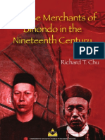 Chinese Merchants of Binondo in the Nineteenth Century by Richard T. Chu