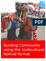Building community using the multicultural festival format