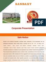 Ranbaxy Corporate Mar 2011
