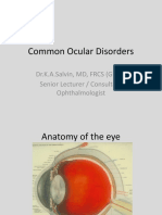 Common Ocular Disorders