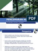 Pencemaran Hutan
