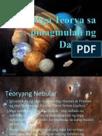 Mga Teorya Sa Pinagmulan Ng Daigidig 3
