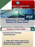 Pemasangan Sistem Pemipaan Air Bersih
