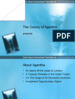 Neck X-ray PowerPoint Template