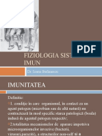 1.FIZIOLOGIA SISTEMULUI IMUN 2011