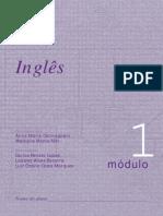 Apostila - Concurso Vestibular - Inglês - Módulo 01