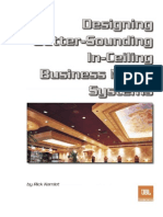 Designing Better_Sounding in Ceiling Business Music