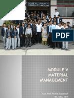 Module-V bu pom notes