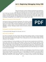 Debug Tutorial Part 1 - Beginning Debugging Using CDB and NTSD