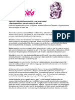 GWP Position Paper on HB 4244 RH Bill