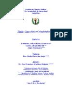 CASO CLINICO   Crioglobulinemia