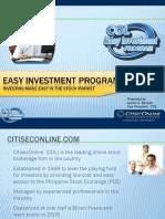 Easy Investment Program