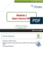 01 Opensource ERP & Adempiere