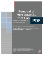 Removal of Mercaptans