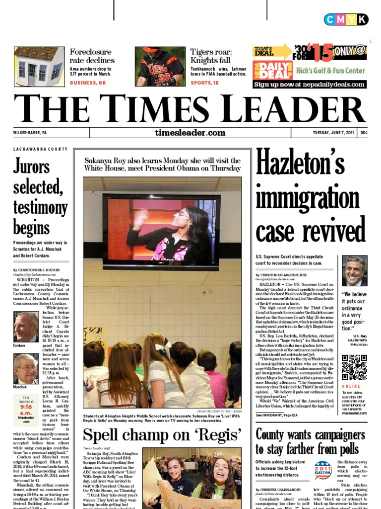 07 2011Scranton Lackawanna Leader County 06 Times UMGqVSpz