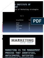 Marketing April