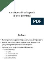 KARSINOMA BRONKOGENIK