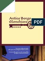 Antico Borgo Monchiero, opuscolo
