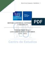 UNIDAD DIDÁCTICA I - Los cambios revolucionarios