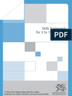 Skills Framework for 3 to 19-year-olds in Wales, 2007