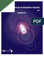 Acta latinoamericana de matemática educativa Vol 18