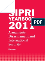 Summary of the SIPRI Yearbook 2011