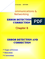 Detection and Correction