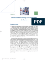 The Food Processing Sector in India