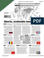 Aborto, ecatombe mondiale