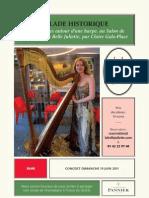 Causerie autour de la harpe de La Belle Juliette du 19 juin
