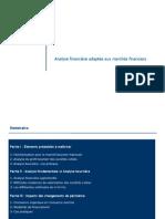Analyse financière adaptée aux marchés financiers