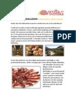 Smaka på Andalusien! - en matresa i södra Spanien