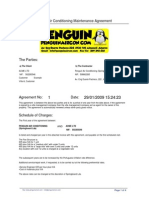 Maintenance Agreement Contract