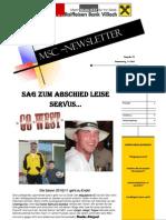 MSC Newsletter 9.6.