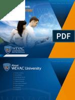 WEVAC University Prospectus
