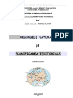 Resurse Naturale Si Planificare Teritoriala