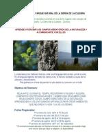 Conectar Con Los Campos Vibratorios de La Naturaleza en La Sierra de La Culebra