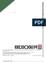 Boxxer 2006 Service Guide