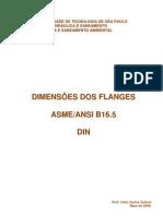 Dimensoes Dos Flanges ASME ANSI