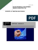 SINTESIS UNIDAD II