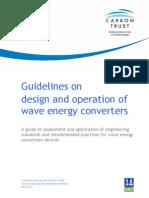 DNV Wave Energy Converter Regs