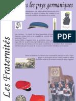 Materiał o koporacjach akademickich w Niemczech (fra)