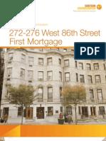 272-276 West 86th Street Exclusive Offering Memorandum